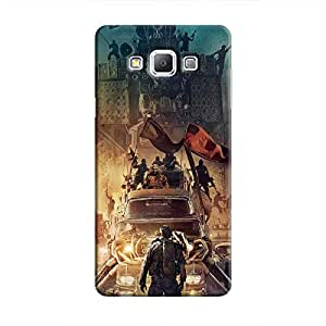 Cover It Up - Mad Max Vs Everybody Galaxy A3 Hard Case