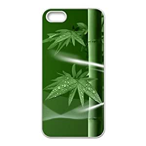 Bamboo Unique Design Cover Case for Iphone 5,5S,custom case cover ygtg-334819