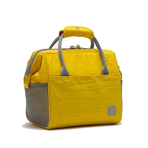 - Fashion Insulated Lunch Bag, Large Cooler Waterproof Tote Bag Bento Lunch Bag for Women
