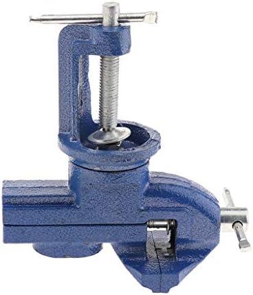 回転台付きバイス 小型 クランプ 作業工具 多機能ブラケット 細かい作業 固定工具 全3サイズ - 65MM