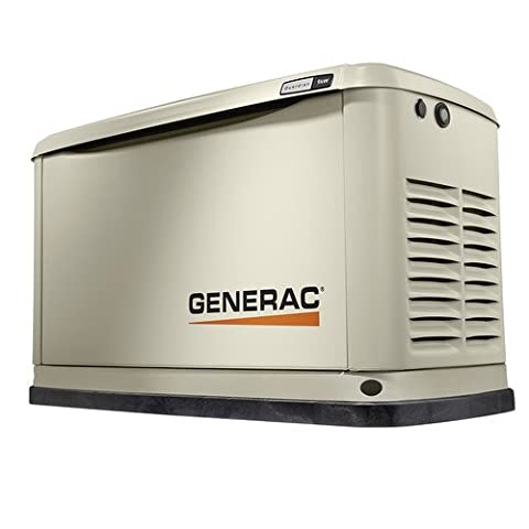 Generac 7029 Guardian Series 9kW/8kW Air Cooled Home Standby Generator (no transfer switch) (Generac Guardian Series)