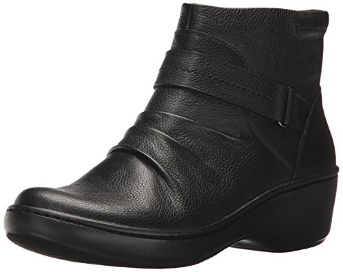 Women's Fairlee Bootie CLARKS Leather Delana Ankle Black 78HHqF4n