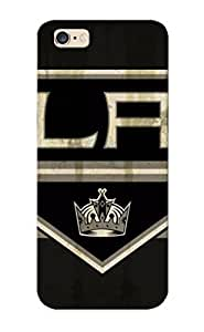 Runandjump Design High Quality Hockey Los Angeles Kings Cover Case With Ellent Style For Iphone 6 Plus(nice Gift For Christmas)