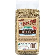 Bob's Red Mill Organic Whole Grain Oat Groats, 29-ounce