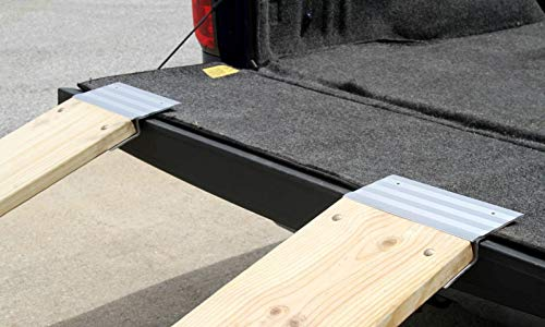 2 PCS Heavy Duty 12'' Aluminum Ramp Top/End Set with Mounting Hardware (Boards Not Included) by [Fengo] (Image #5)