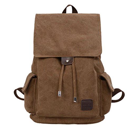 Travel Outdoor Computer Backpack Laptop bag 15.6'' (brown) - 9