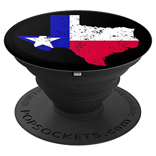 CocomoSoul-Mobile Texas Flag Texas State PopSockets Stand for Smartphones and Tablets - PopSockets Grip and Stand for Phones and -