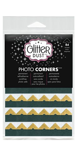 Therm O Web Glitter Dust Photo Corners, ()
