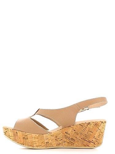 Keys 5134 Wedge Sandals Women Beige qL532zGFdi