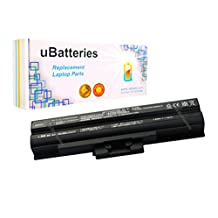 UBatteries Laptop Battery Sony VAIO VPCF2390S - 6 Cell, 4400mAh (Black)