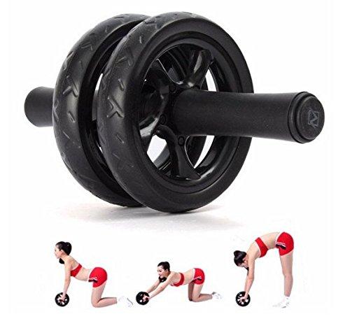 Abs waist abdominal exercise wheel roller fitness strength for Abc salon equipment