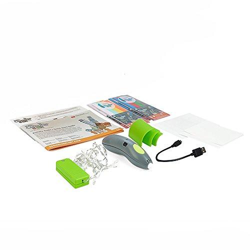 3Doodler Start Architecture Themed 3D Pen Set for Kids, Grey Pen, with 4 Packs of Refill Plastic Filaments by 3Doodler (Image #1)
