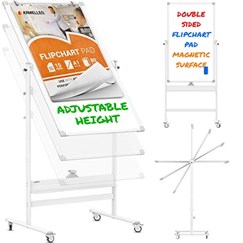 Mobile Whiteboard 48x24 Large