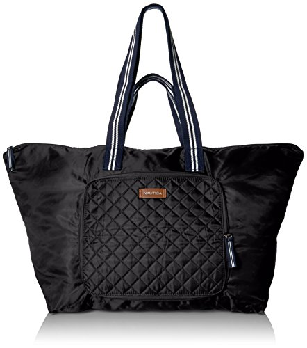 Quilted Zippered Fashion Tote - 2