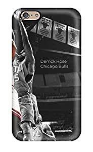 High Quality Shock Absorbing Case For Iphone 6-nba Basketball Derrick Rose Selective Coloring Bulls Chicago Bulls Atlanta Hawks