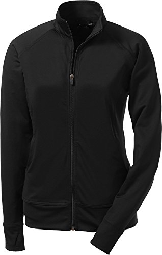 - Sport-Tek Women's NRG Fitness Jacket L Black