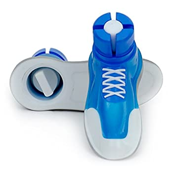 "Sneaker Walker Glides for 1"" Walker Tubes - Blue - 1 Pair"