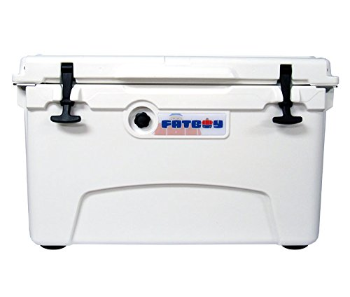 Fatboy 45QT Rotomolded Chest Ice Box Cooler White by Fatboy
