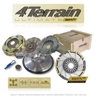 4Terrain - Kit de embrague de alta calidad – 4 Terrain ER2 Heavy Duty cubierta montaje
