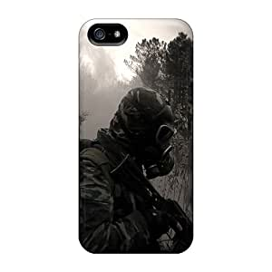 Anti-scratch And Shatterproof Lone Soldier Phone Case For Iphone 5/5s/ High Quality Tpu Case