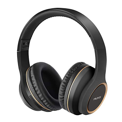 Active Noise Cancelling Headphones, Bluetooth 5.0 Over Ear Wireless Headphones with 30H Playtime, Deep Bass, Foldable…