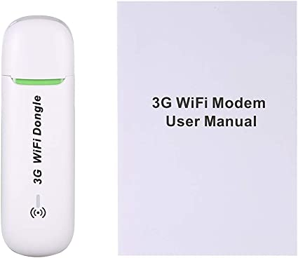 White Mini USB 3G WiFi Hotspot 3G Mobile Router Mobile WiFi USB Dongle Wireless WCDMA Modems with SIM Card Slot