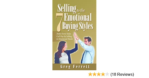 Amazon Selling To The Seven Emotional Buying Styles Ebook