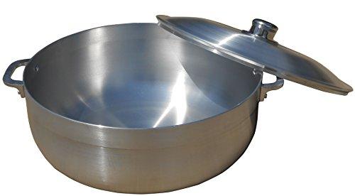 King Kooker 15-Quart Aluminum Caldera Pot with Lid