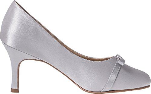 LEXUS Leela - Zapatos de vestir para mujer plata