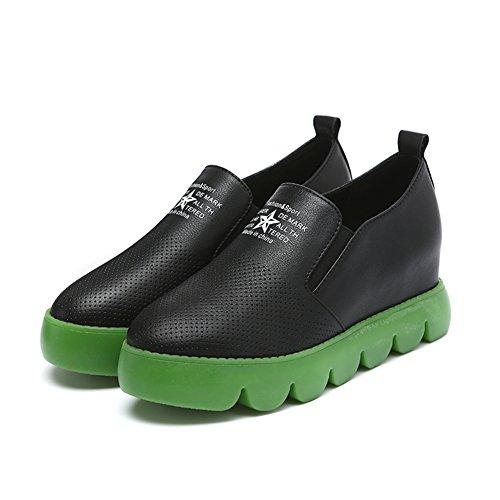 Zapatos de mujer/Lok Fu establece pie zapatos/Zapatos de plataforma/Zapatillas casuales A