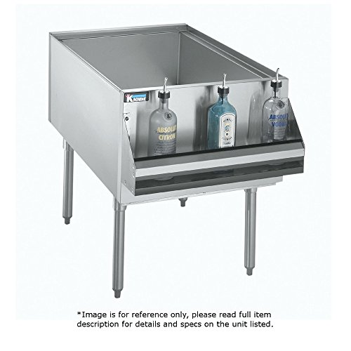 - Krowne Metal KRPT-1836-10 Royal Series Underbar Pass-Thru Ice Bin/Cocktail Station 18