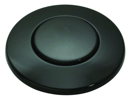 Insinkerator STC-BLK Sink Top Button, Glossy Black