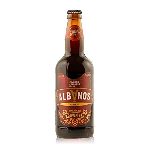 Cerveja Albanos Brown Ale 500ml