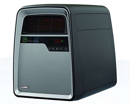 Lasko 6101 Infrared Quartz Console Heater (8 Element Infrared Quartz Heater)