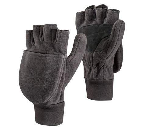 Black Diamond Wind Weight Mitt Cold Weather Gloves, Black, Large ()