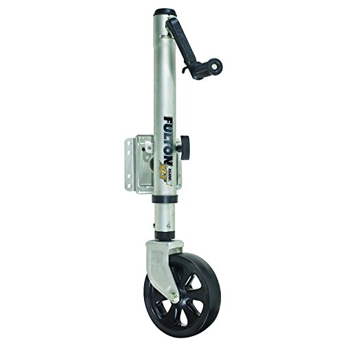 Fulton (141133) XLT Sharkskin Finish Bolt-On Swing-Away Jack - 1500 lb. Weight Capacity