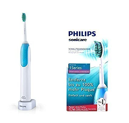 Philips HX 3120 00 Sonicare PowerUp 1Serie Cepillo dental sónico recargable  - Tecnología sónica - 9a10484be183