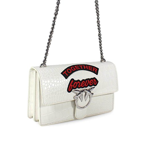 White Bag Spring Forever Women's Love Accessories Summer 2018 Pinko Together TqYxABI