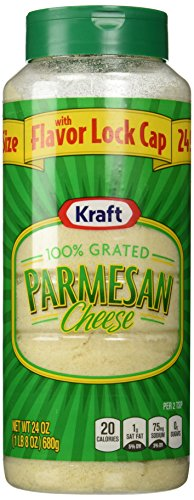Kraft Grated Parmesan Cheese-24 oz (Parmesan Grated)