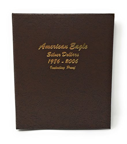 Dansco US American Silver Eagle Coin Album 1986 - 2006 with Proofs Volume 1 #8181 ()