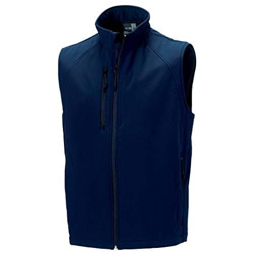 Russell Softshell Russell Azul Chaleco Chaleco Marino Azul Softshell Russell Marino qqfYrS1