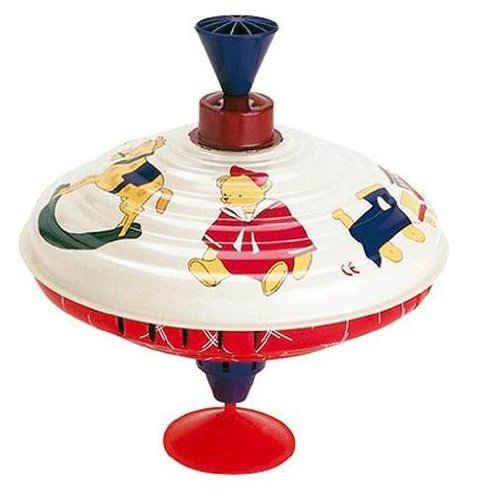 Bolz Victorian Styled Spinning Top Toy