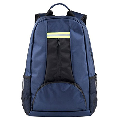 Price comparison product image Multifunctional Backpack Elevator Repair Tools Kit Thickened Canvas Backpack Electrician Bag (Blue)