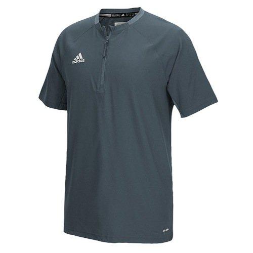 adidas Mens Fielder's Choice Cage Jacket, Onix Grey/Onix Grey, X-Small