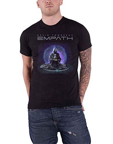 devin townsend T Shirt Empath Meditation Band Logo Official Mens Black Size - Band Townsend