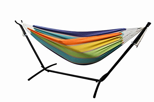 Funnylife 2 Person Hammock with Steel Stand Adjustable Hammock
