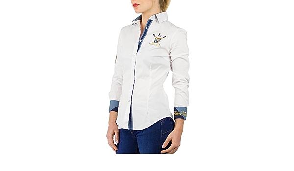 Piel de Toro 42142526 Camisa, Blanco (Blanco 13), X-Small ...