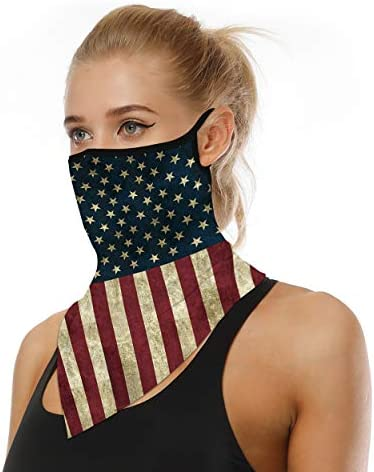 Zero Zoo Neck Gaiter Ear Loops Face Mask Men Women Face Scarf Cool Masks 1 Pack