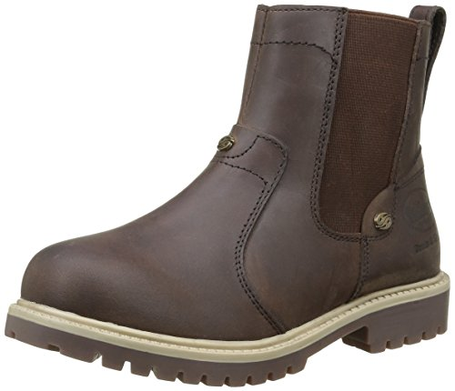 Dockers by Gerli Unisex-Kinder 35fn720-400320 Combat Boots Braun (Cafe 320)