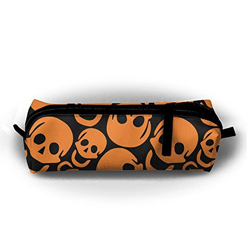 HTSS Halloween Pencil-box Pouch Pencil Holders Pencil Pen Casewith Zipper Stationery Bag Sewing Kit ()